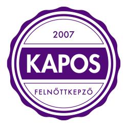 2007 Kapos Felnõttképzõ Kft. logo